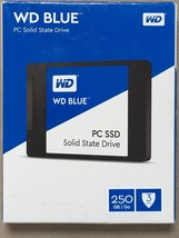 WESTERN DIGITAL WD BLUE 500GB SATA WDS500G1B0A SOLID STATE DISK SSD 7180... - $129.99