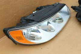 06-07 Hyundai Azera 7-Pin Headlight Head Light Lamps Set L&R - POLISHED image 5