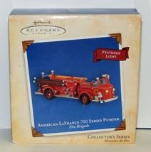Hallmark 2004 American LaFrance 700 Pumper Fire Brigade Truck Series Orn... - $25.00