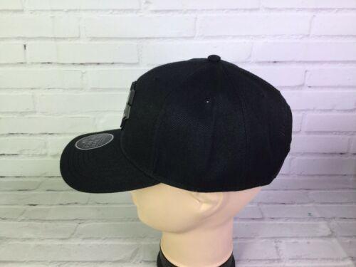 Marvel Comics Black Panther Metal Logo Precurve Snapback Hat Cap Adjustable NEW