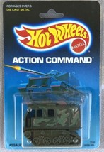 Hot Wheels 1988 Action Command ASSAULT CRAWLER #3338 with Plastic Protector - $4.95
