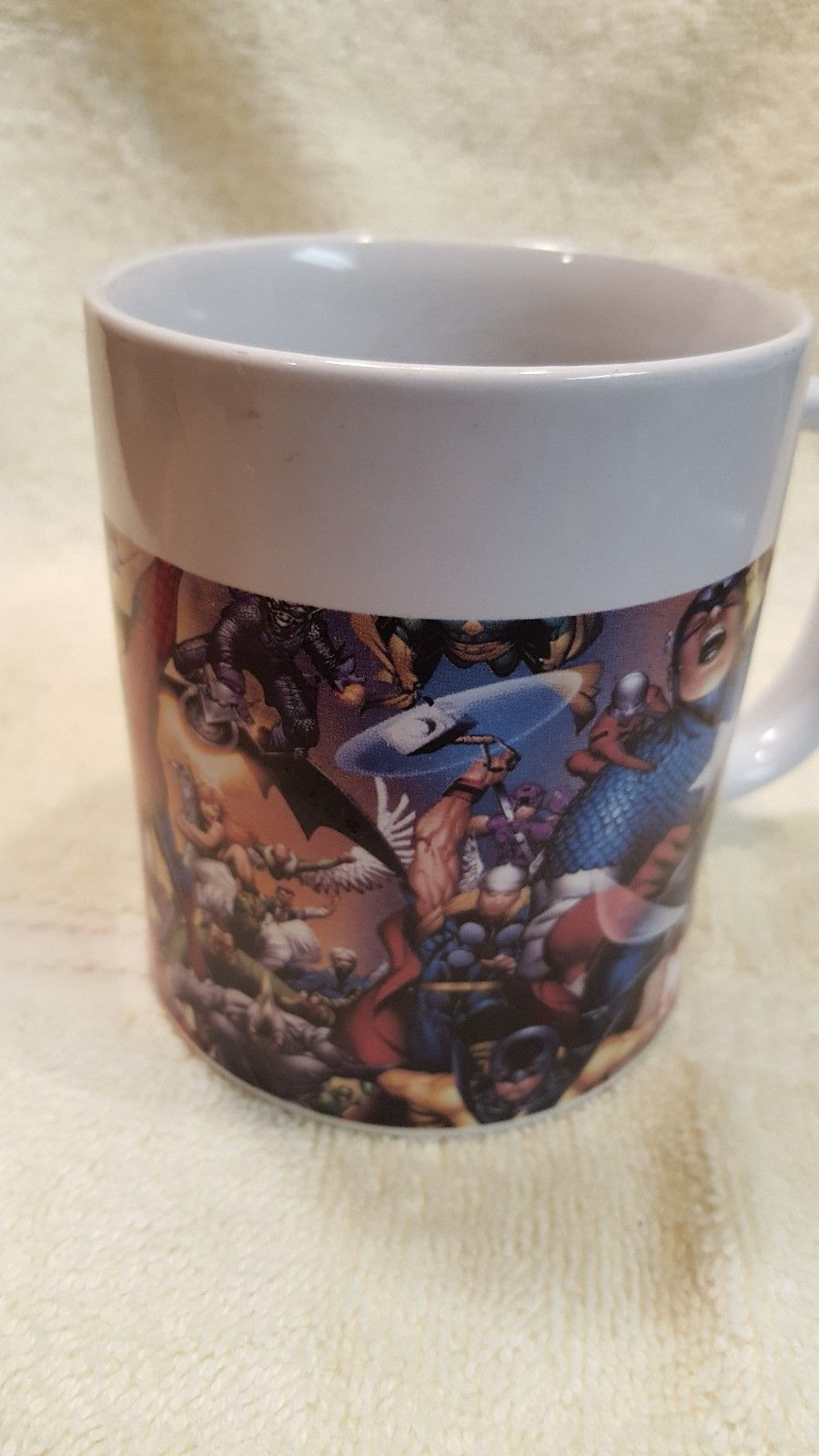 Mugs & Cups Collectibles Marvel Heroes Coffee Mug 2006 Sherwood Comic Captain America Superheroes
