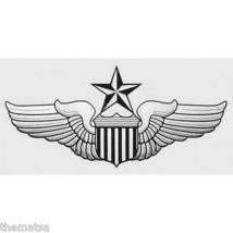 USAF AIR FORCE SENIOR PILOT WING  5.5 INCH MILITARY DECAL STICKER  MILITARY - $15.33