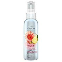 Avon Naturals Pink Daisy & Sicilian Lemon Body Mist Body Spray 100 ml New Rare - $19.69
