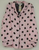 Morgan Taylor Intimates Pink Dot Pajama Set Adult Medium Grade B image 3