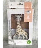Vulli Sophie The Giraffe La Baby Natural Rubber Teether Toy polka dot New - $34.60
