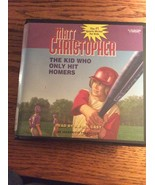 The Kid Who Only Hit Homers Matt Christopher book on CD two discs kids b... - $9.95