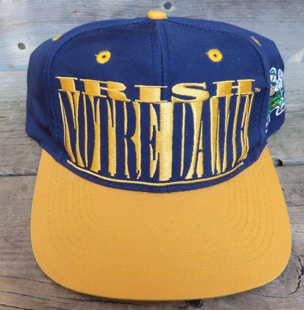 5155f16a44f22 S l1600. S l1600. Previous. Notre Dame Fighting Irish Hat Officially  Licensed Embroidered Snapback Hat