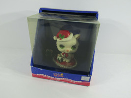 Hasbro 2006 Littlest Pet Shop Bobble Head Tabletop Figurine Christmas Cat box - $23.76