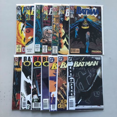 Lot of 14 Batman (1940) from #483-631 FN-VF Very Fine
