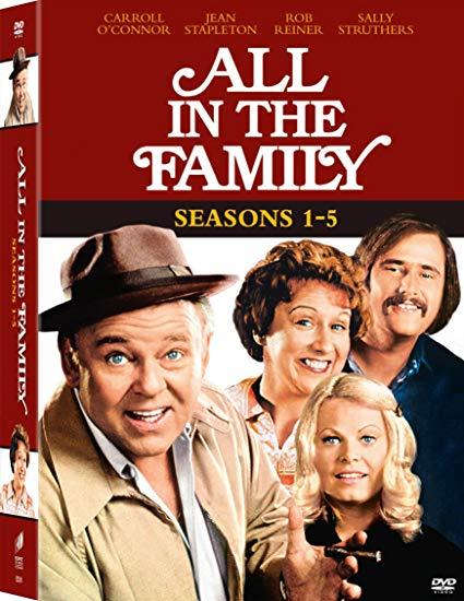 All in the Family: Seasons 1-5 DVD
