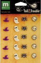 """Making Memories """"Toil and Trouble"""" Brads, Set of 20"""