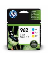 HP 962 | 3 Ink Cartridges | Cyan, Magenta, Yellow | 3HZ96AN, 3HZ97AN, 3H... - $115.00