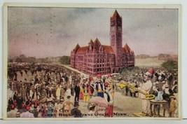 Minneapolis Key to The City Court House Postcard P4 - $13.95