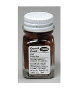 TESTOR Enamel Paint, Glass Bottle, 1/4 oz, Brown - $6.99