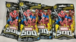 Lot Of 4 - Marvel 500 Micro Series 5 Mystery Pack A1 - $9.85