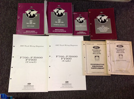 1997 Ford & B 600 700 800 900 Service Shop Workshop Manual Oem mit Brille Ewd + - $142.86