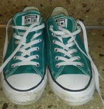 Converse Chuck Taylor All Star Low Top Green Size 8M 10W - $24.74