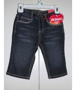 BONGO Girls JEANS SHORTS/ Capris SIZE- 4 or 5 NEW - $12.79