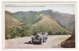 Car Pikes Peak Auto Highway Colorado 1920s postcard - $4.46