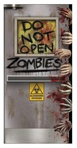 Zombies Lab Door Cover Prop Hands Decor Creepy Halloween Haunted House B... - £23.51 GBP