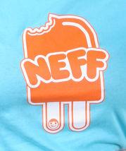 Neff Girls Womens NEFFSICLE Popsicle Ice Cream Tahiti Blue or Black T-Shirt NWT image 6