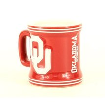 Oklahoma Sooners NCAA Licensed Sculpted Ceramic Mini Mug Style Shot Glas... - $9.89