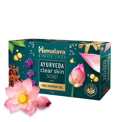 Primary image for Himalaya AYURVEDA clear skin bar soap - 75g