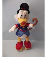Disney Store Exclusive UNCLE SCROOGE MCDUCK Authentic Original Plush