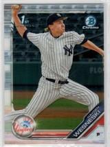 2019 Bowman Chrome 1st Bowman Hayden Wesneski #BDC-177 New York Yankees - $0.90