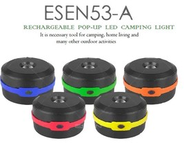 Rechargeable LED Camping Lantern & Flash Light with Solar Charge For Eme... - $11.50