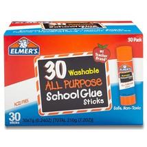 Elmer's All Purpose School Glue Sticks Clear Washable 0.24 Ounce Sticks ... - $10.27