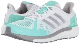 adidas Performance Womens Supernova ST Running Shoe White/Silver/Aqua BB... - $109.11