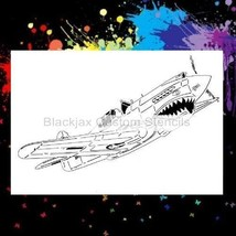 WWII P-40 Tomahawk Airbrush Stencil,Template - $10.99