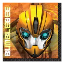 Transformers Prime Dessert Napkins 16 Ct Birthday Party Supplies by Uniq... - $3.71