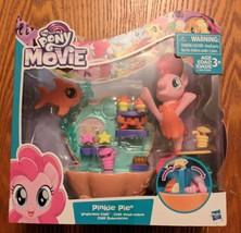 My Little Pony the Movie Pinkie Pie Sea Pony Undersea Cafe Playset NEW - $16.00