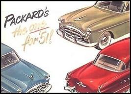 1951 Packard Original Dealer Brochure, Nr MINT 51 - $30.27