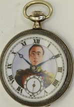 Important historic silver&niello pocket watch  掛表 挂表.Emperor Pu Yi of Ch... - €1.101,74 EUR