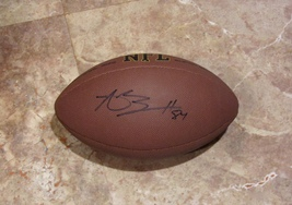 ANTONIO BROWN AUTOGRAPHED HAND SIGNED NFL FOOTBALL Pittsburgh STEELERS w... - $149.99