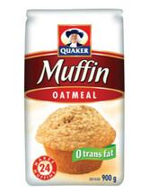 6 Bags Of Quaker Oatmeal Muffin Mix 900 G Per Bag - $64.07