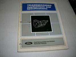 Ford Transmissions, Applications and Specifications - $9.89