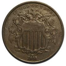 1868 SHIELD NICKEL 5¢ COIN Lot# EA 132