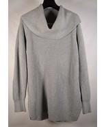Michael Kors Sweater Grey Knit Cowl Neck Womens L - $29.70