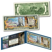 WORLD TRADE CENTER 9/11 WTC 18th ANNIVERSARY $2 Bill - Last Column Twin ... - $13.06