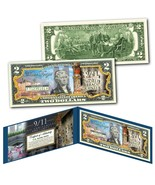 WORLD TRADE CENTER 9/11 WTC 18th ANNIVERSARY $2 Bill - Last Column Twin ... - €11,79 EUR