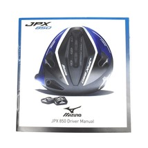 New Tool and Instruction Manual only for Mizuno JPX 850 Driver - $149,52 MXN