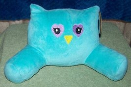 My Life As Fluffy Owl Lounge Teal Pillow NWT - $10.77