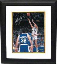 Christian Laettner signed Duke Blue Devils Vertical 8x10 Photo Custom Fr... - $102.95