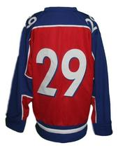 Custom Name # Team Norway Hockey Jersey New Red Any Size image 4