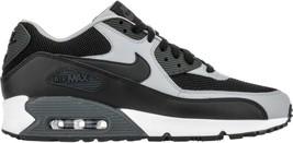 Nike Air Max 90 Essential 537384-053 Black Leather Classic Casual Men - $109.95